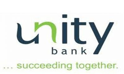 Unity Bank Posts Gross Earnings Of N44.59 billion in FY 2019…declares N550M PBT in Q1 2020