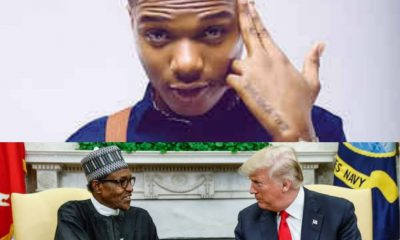 What Buhari And Donald Trump Share In Common - Wizkid Reveals