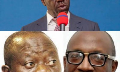 What Obaseki Said on Oshiomhole, Ize-Iyamu After Meeting With Buhari