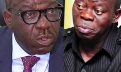 WARNING!!! Stay Away From Edo Governorship Race – Obaseki Tells Oshiomhole