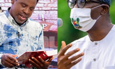 Lagos Governor Sanwo-Olu Concurs With TB Joshua On Reopening Of Churches