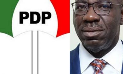 #PDP Gives Condition To #Obaseki Before He Can Contest As Governorship Candidate