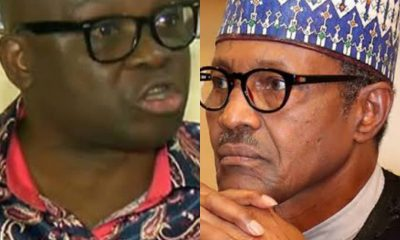 """""""You Can't Manage Your Immediate Family, Let Alone #APC And Nigeria"""" – #Fayose Blasts #Buhari"""