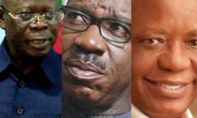 #Edo2020: Oshiomhole, Hosa Okunbo Continue Onslaught Against Godwin #Obaseki, Shift Battle Ground To PDP