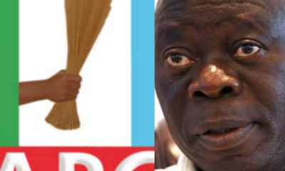 "REPORT: ""#APC NEC Might Sack Adams #Oshiomhole Today"" - #APCCrisis"
