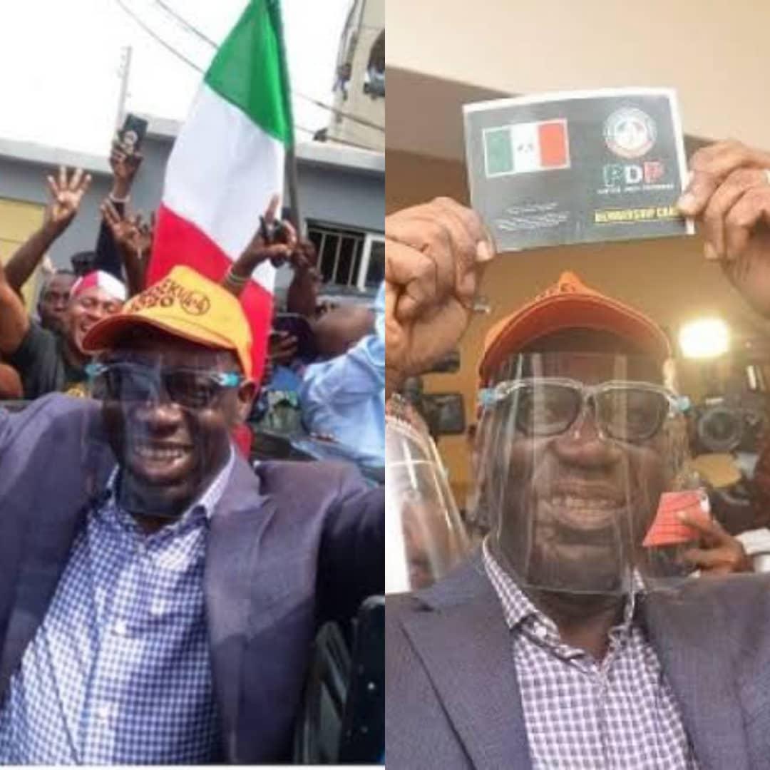 Governor Godwin Obaseki Emerges Edo State PDP Governorship Candidate