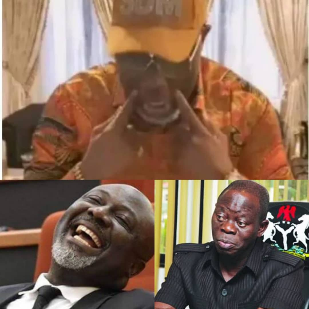 TRENDING VIDEO!!! Dino Melaye Taunts Suspended National Chairman of APC, Adams Oshiomole