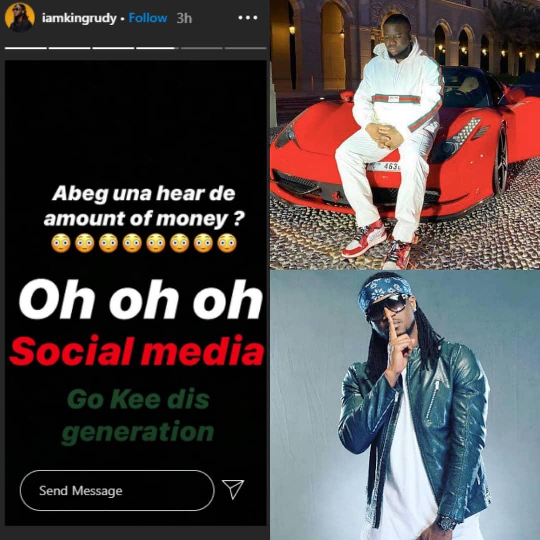 N168 BILLION INTERNET FRAUD: What Paul Okoye 'Rude Boy' Said About #Hushpuppi 's Alleged Scam