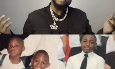 THROWBACK!!! Check-Out Adorable Childhood Photos Of #Davido