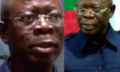 BREAKING: Adams #Oshiomhole Bows Out #APC NWC, Pledges Loyalty To #Buhari