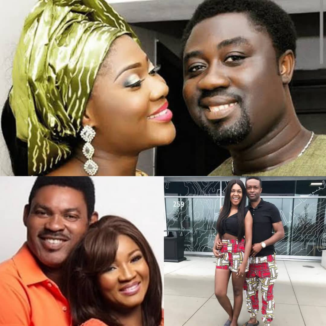 MADE I HEAVEN? See Photos Of 4 Nollywood Actress Who Look Like Their Husbands