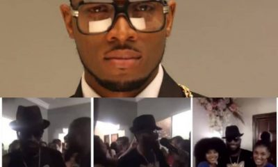 Amid Rape Allegations, #D'banj Flouts #COVID-19 Guideline, Performs In Crowded Event [VIDEO]