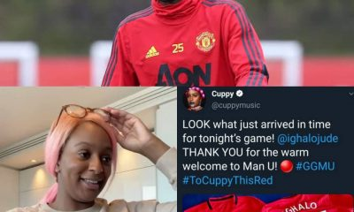 HEARTWARMING!!! See What Odion Ighalo Gave DJ Cuppy After Dumping Arsenal FC