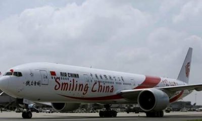 United States Suspends Flights By Chinese Airlines