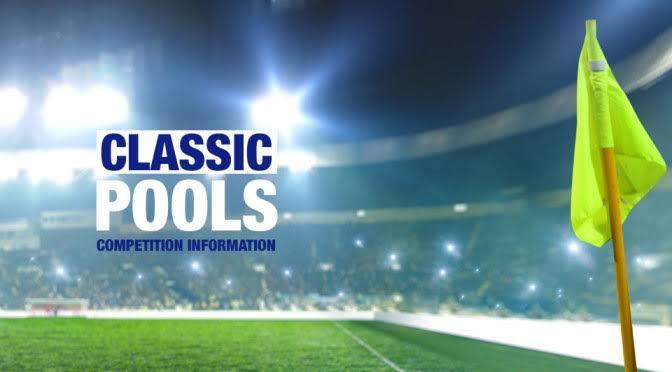 UPDATE!!! See UK 2019/2020 Classified Football Pool Fixtures - Week 50 Pool Result