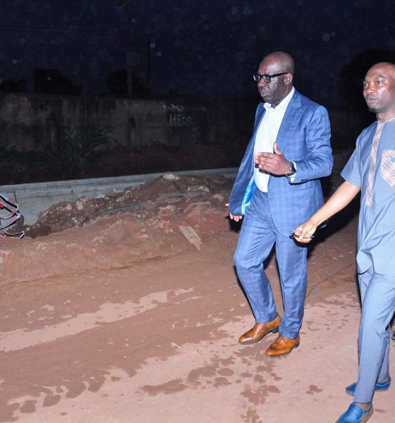 OBASEKI'S INFRASTRUCTURAL DEVT: Contractor Returns To Site, As Ekehuan Road Dualisation Continues