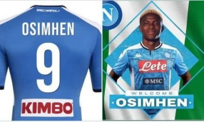 BREAKING: VictorOsimhen Finally Joins Napoli, Becomes Costliest African Player