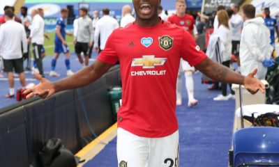 See What Odion Ighalo Did After Manchester United Qualifies For UEFA Champions League [PHOTO]