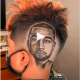 TERRIFIC!!! Kanye West Super Fan Carves Rappers Face On His Head In A Nice Haircut [VIDEO]