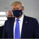 BREAKING: Finally, Donald Trump Wears Mask In Public [PHOTOS]