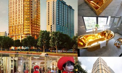 WAWU!!! See World's First Gold-Plated Hotel Launched In Vietnam At $250 Per Night [VIDEO]