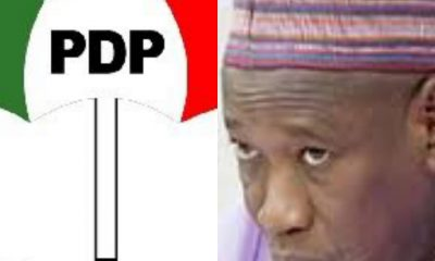 "PDP To GANDUJE: ""'You Are A Barefaced Treasury Looter"" - #Edo2020"