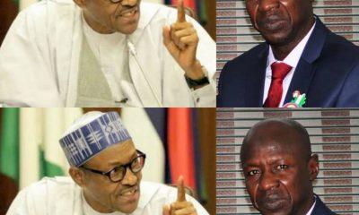 BREAKING: President Buhari Suspends Acting EFCC Chairman, Ibrahim Magu