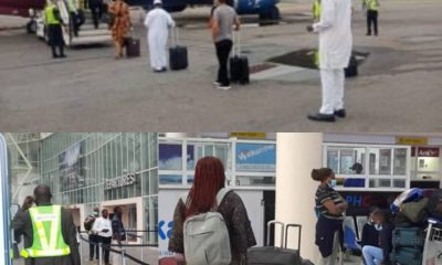 DOMESTIC FLIGHTS: Terminal Empty, Passengers Low As Lagos Airport Reopens [PHOTOS]