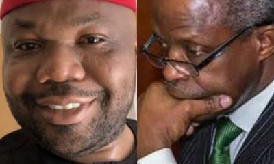 "LAWSUIT THREAT: You Must Resign Before You Sue Me"" - Jackson Ude Dares Osinbajo"