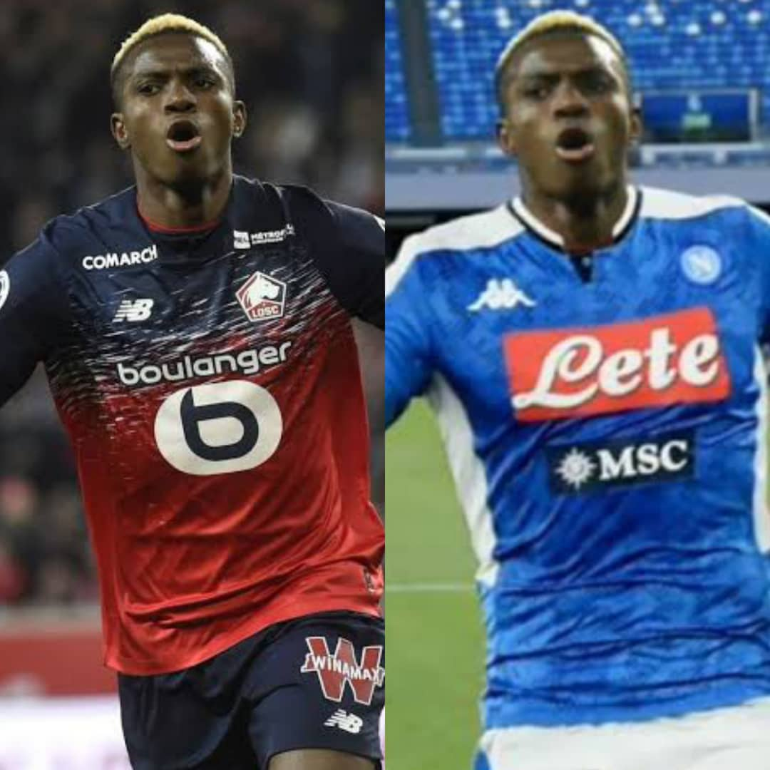 Victor Osimhen Will Wear No 9 Jersey Next Season Napoli Reveals