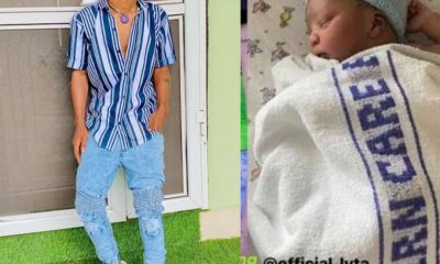 Nigerian Singer, Lyta Welcomes His First Child [PHOTO]