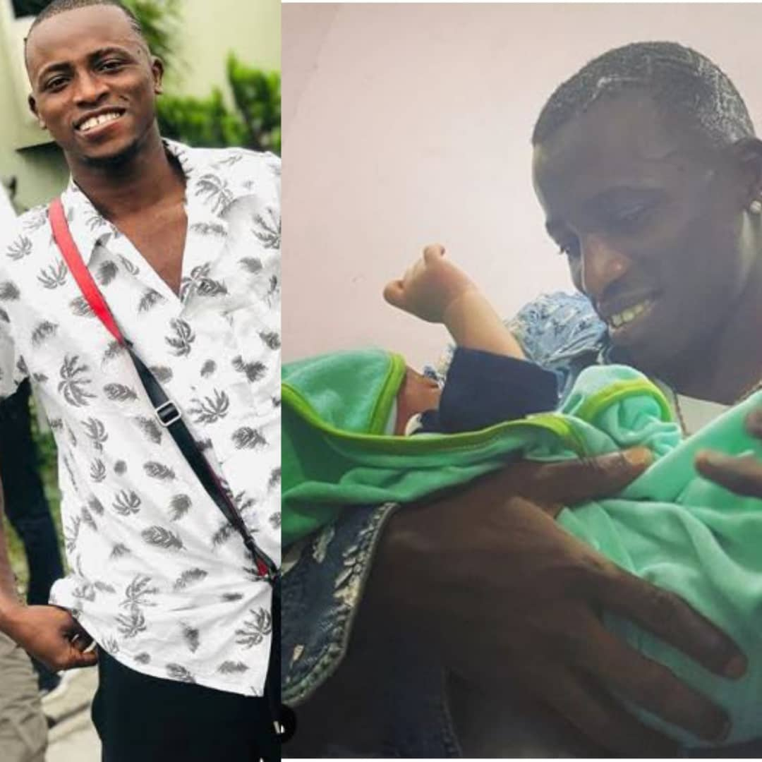 BREAKING: Aloma DMW Welcomes First Son With His Girlfriend
