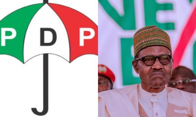 "BREAKING: ""Resign Now"" - PDP Tells President Buhari"