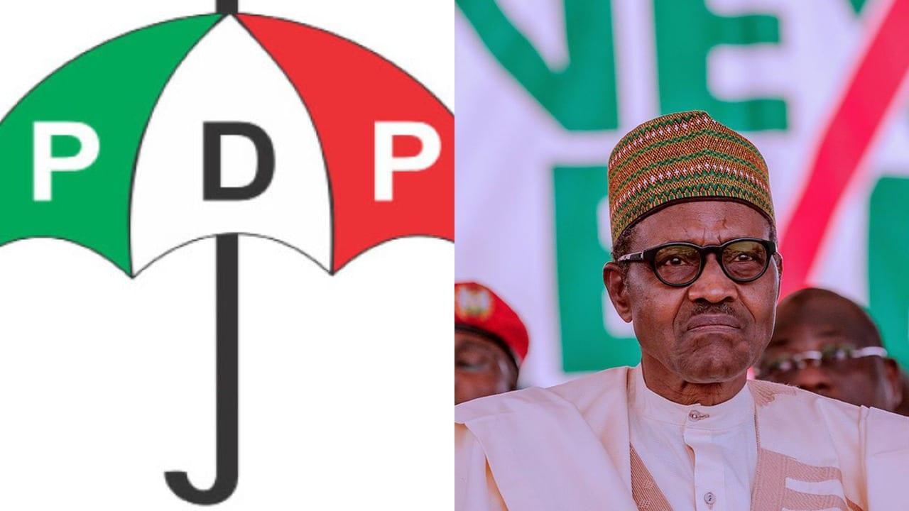 """BREAKING: """"Resign Now"""" - PDP Tells President Buhari"""