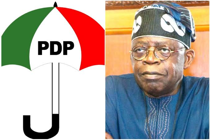 """#Edo2020"""" Concentrate On Your Epileptic 2023 Ambition """" - PDP Blasts Tinubu"""