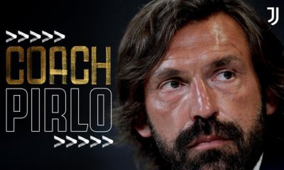 ITS OFFICIAL!!! Juventus Name Club Legend Andrea Pirlo As New Coach