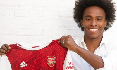 DONE DEAL!!! Willian Borges Officially Join Arsenal...See Jersey Number [PHOTOS/VIDEO]