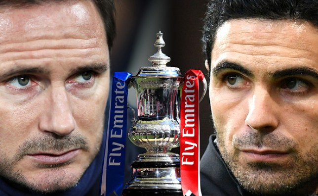 #FACupFinal: Mikel Arteta And Frank Lampard Go For First Trophy At Wembley - #CHEARS