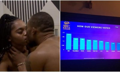 #BBNaijaLockdown Eviction: See How Viewers Voted For #BBNaija Housemates