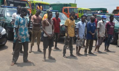 PHOTOS: LAWMA Clamps Down On Cart Pushers