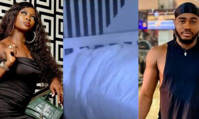 #BBNaija2020: Twitter Is Blowing Hot As Praise And Ka3na Were Caught Making Love [VIDEOS]