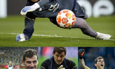 BREAKING: Real Madrid Legend, Iker Casillas Hangs Gloves After 22-Year Playing Career,