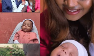 Finally, Regina Daniels And Ned Nwoko Reveals Son's Face [PHOTOS/VIDEO]