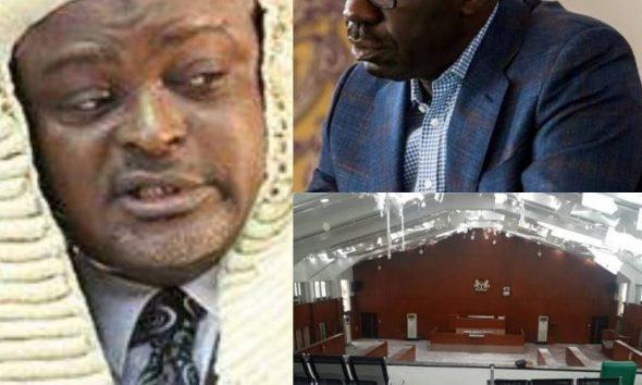 Mudashiru Obasa, State Speakers Condemn Obaseki Over Siege On Edo State Assembly