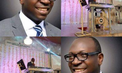 PHOTOS: APC Guber Candidate, Osagie Ize-Iyamu, Ministers At RCCG