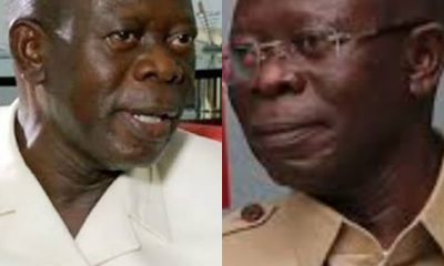 What Adams Oshiomhole Said About His Plans To Return As APC Chair