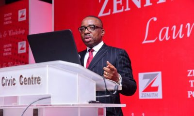 JUST IN: Zenith Bank GMD Calls For Concerted Efforts To Expand Non-Oil Exports