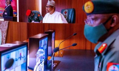 JUST IN: President Buhari, Governors, Security Chiefs Meet