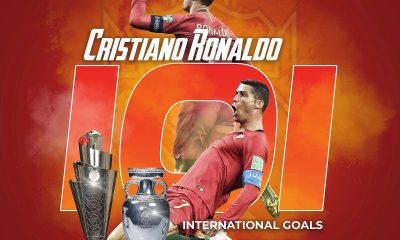 GOAT: Cristiano Ronaldo Breaks European Men's Player Record [VIDEO]