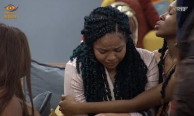 Watch As Nengi Cried Profusely Moment Ozo Got Evicted From #BigBrotherNaijaLockdown